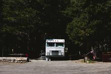 Van In A Camping