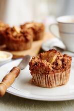 Buckwheat Apple Muffins