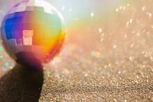 Double Exposure Disco Ball Wit...