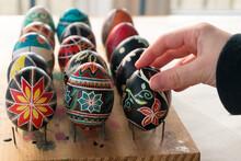 Colorful Ukrainian Easter Eggs...