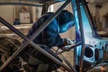 Mechanic In A Car Repair Shop