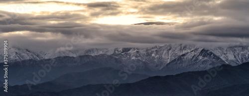 Fotografia Montañas nevadas