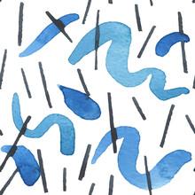 水彩 イラスト パターン 背景 素材 絵具 アート