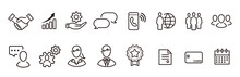 Business Loyalty Icons Vector Sign