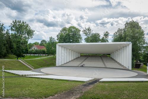 Photo Song festival ground amphitheater in Viljandi