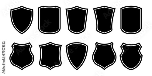 Shields set collection Fotobehang