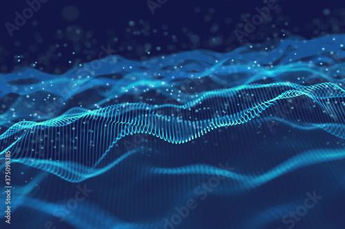 Fotografía Technology background template