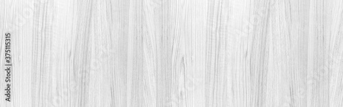 Foto Panorama of Wood plank white timber texture background