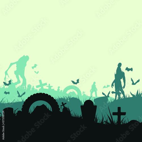 Photo autumn, background, banner, bat, black, boo, card, cartoon, celebration, charact