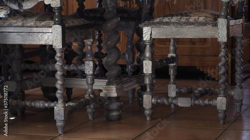 Photo Décor d'intérieur, chaises couleur shabby