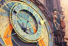 Old Astronomical Clock In Prague