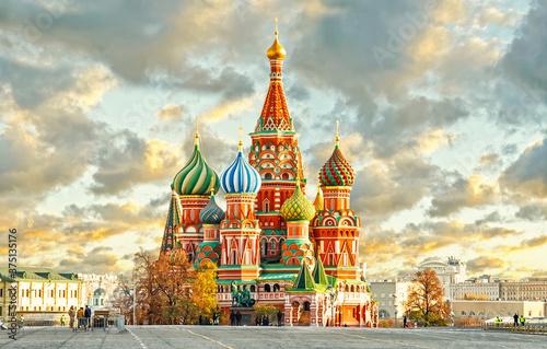 kremlin in moscow Billede på lærred