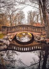 Mindowaskin Park Westfield, NJ New Jersey Bridge Over The Water Landscape