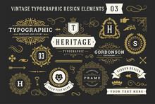 Vintage Typographic Decorative...