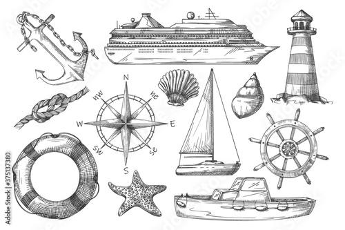Marine item Wallpaper Mural