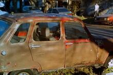 Renault 4 Abandonado