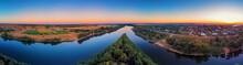 Aerial Drone Panorama Of Puhac...