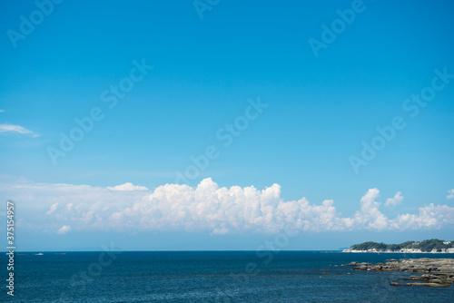青空と海 Fototapet