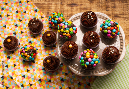 Fototapeta Cupcake de Chocolate