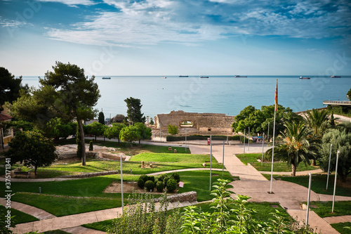 Parque del Anfiteatro. Tarragona Fototapete
