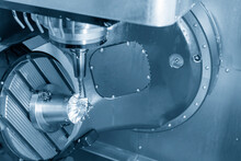 The  5 Axis CNC Milling Machin...