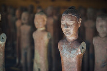 Small Terra-cotta Figures From Xian China