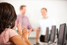 Computer Class: Class Applauds...