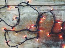 A Set Of Orange Christmas Or H...