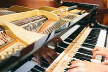 Adjustment And Tuning Of Piano