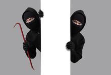 Burglar Concept,Masked Thief I...