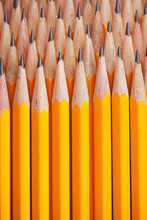 Pencils: Pencils Stacked In Pattern