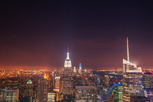NYC Skyline And The Empire Sta...