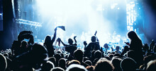 Concert Crowd At Live Music Fe...
