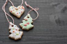 Homemade Christmas Cookies For Tree Decoration