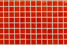 Red Tiles As Background.