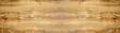 Leinwandbild Motiv old brown rustic light bright wooden oak texture - wood background panorama banner long