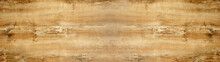 Old Brown Rustic Light Bright Wooden Oak Texture - Wood Background Panorama Banner Long