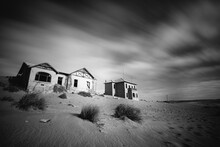 Abandoned House In Kolmanskop, Namibia