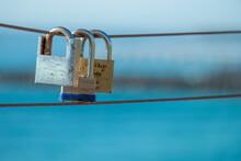 Love Locks At Surfers Pardise,...