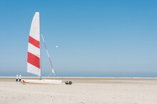Sailboat On A Beach At The Nor...