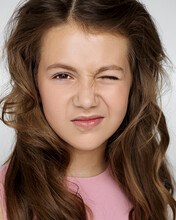 Portrait Of A Beautiful Teenag...