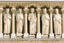 Statues At The Notre Dame Chur...
