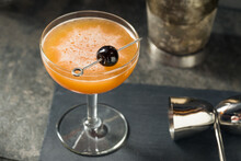 Boozy Blood And Sand Cocktail