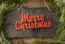 Merry Christmas Door Sign
