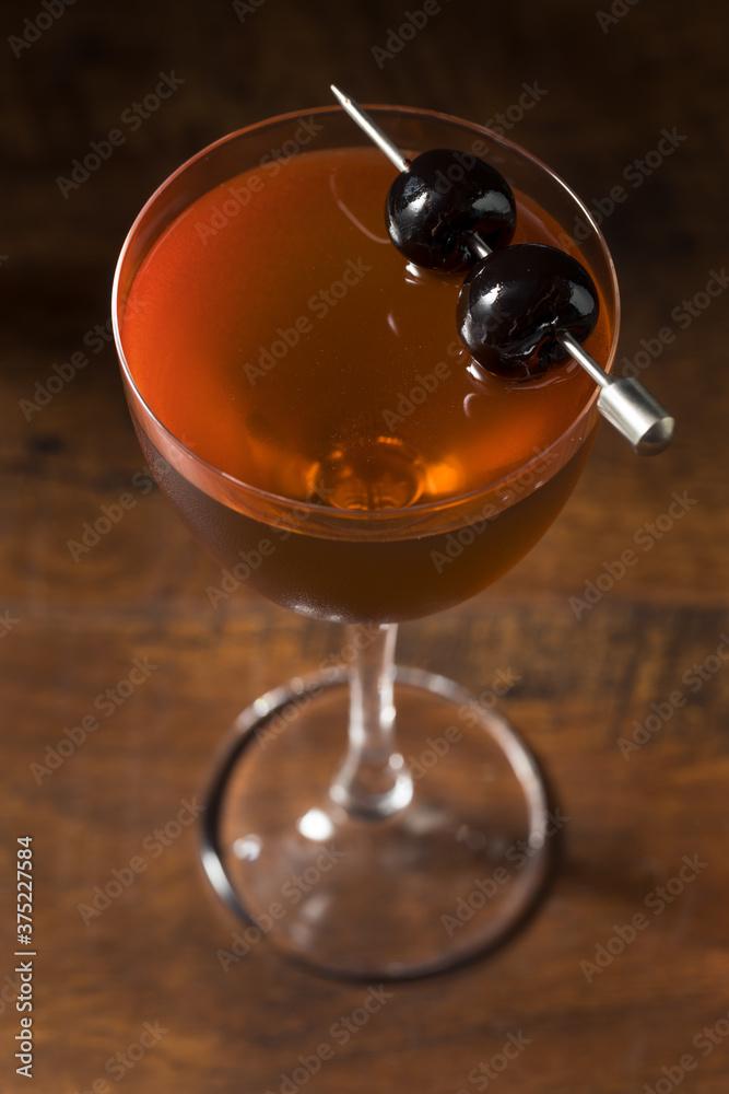 Fototapeta Boozy Rob Roy Cocktail
