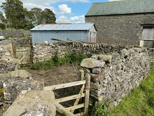 Old Dry Stone Walled, Sheep Pe...