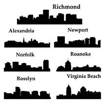 7 City In Virginia ( Richmond,...