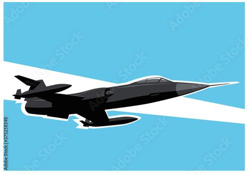 Obraz na plátně Lockheed F-104 Starfighter