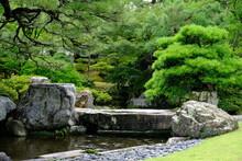Kyoto Japan - Kyoto Imperial Palace Garden Area