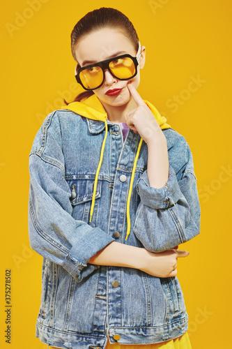 Photo modern sunglasses for girls